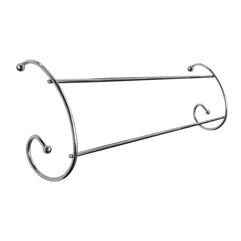 Radiator Airers,Set of 2,Chrome Twin Rail