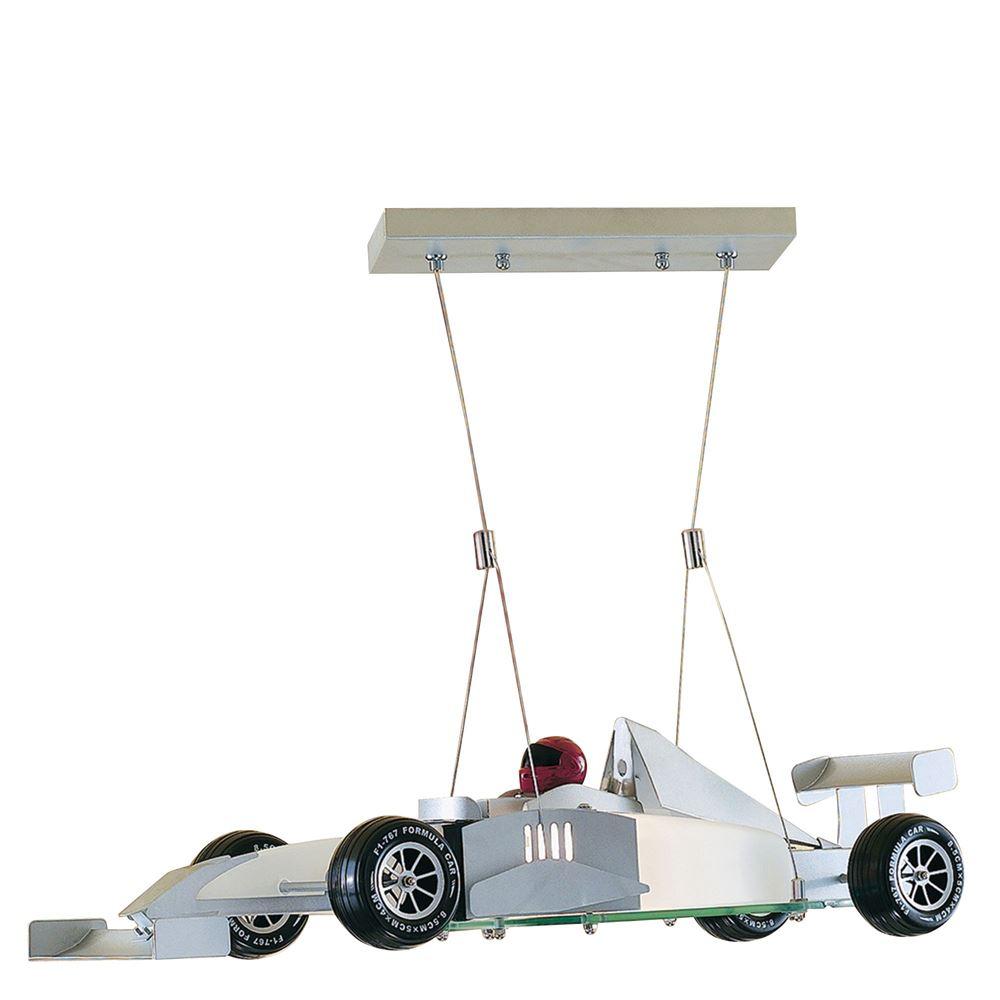 Novelty Racing Car Glass Pendant