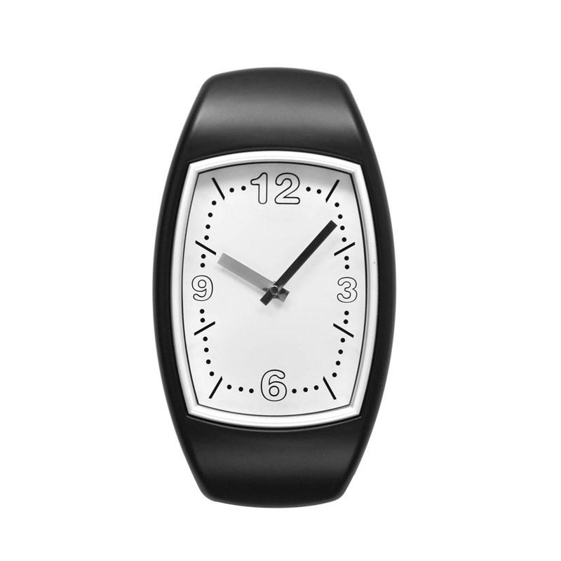Beautiful Black Plastic Wall Clock