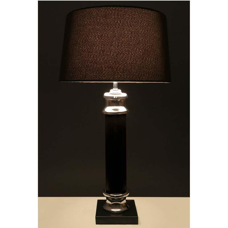 Modern Style Regents Park Black Table Lamp