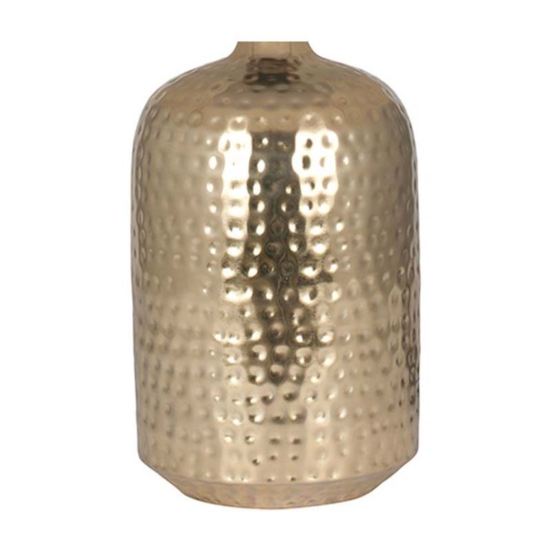 Shiny Table Lamp Base Only Gold Hammered Capsule Living Bedroom Decor