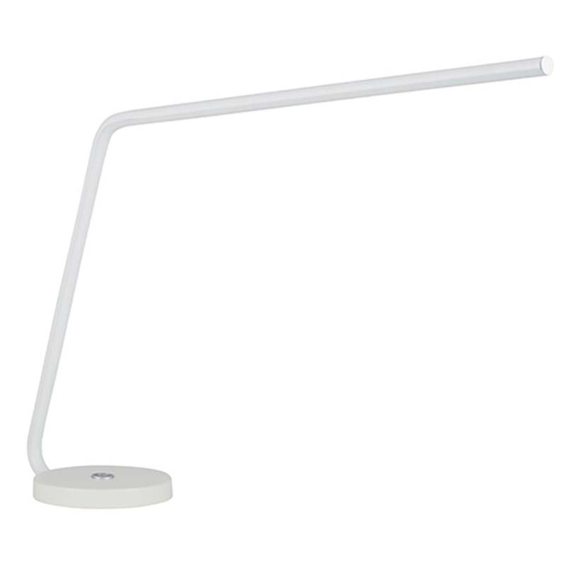White LED Single Arm Table Lamp