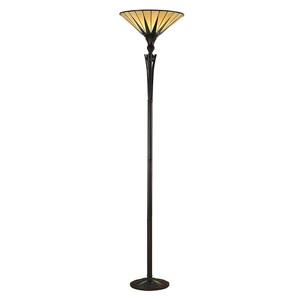 Dark Star Uplighter Floor Lamp Vintage Style Use For Interiors