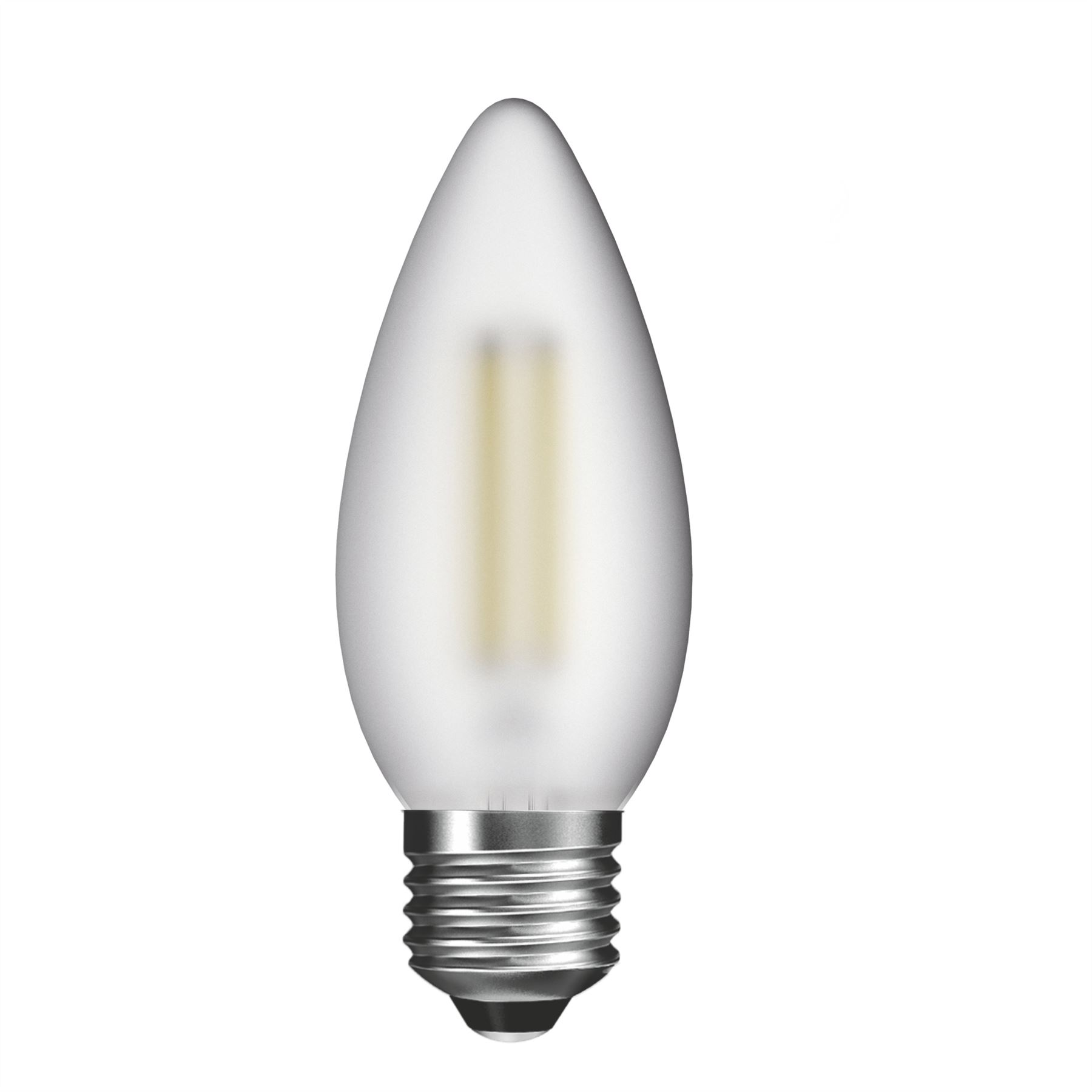 Modern LED Candle Design LED Bulb Warm White With Frosted Finish Home Lighting