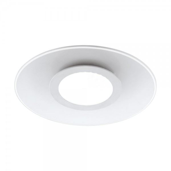 Reducta Led Round Recessed Ceiling Flat Panel Down Light Ultra Slim Warm White