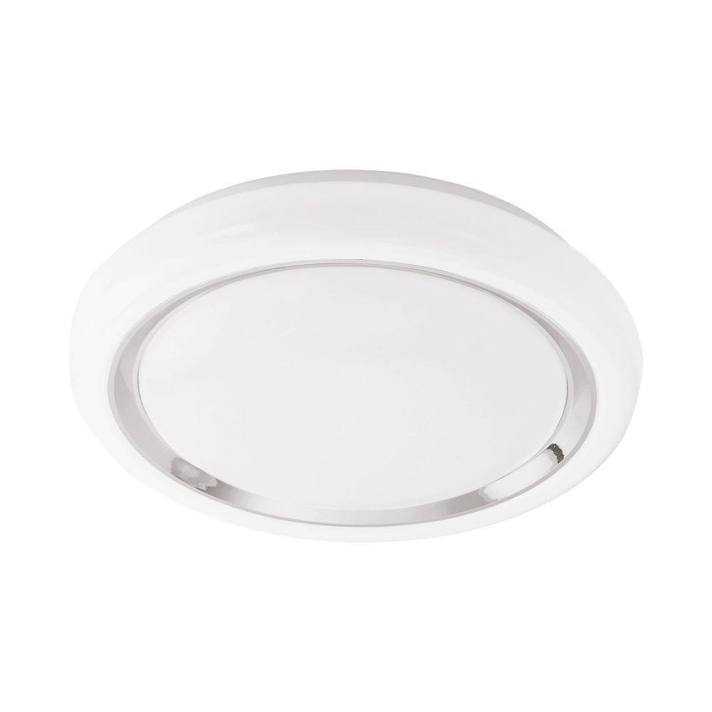 Led Ceiling Light White/Chrome Blue-Rgb/Cct Garden Outdoor Lighting - EGLO