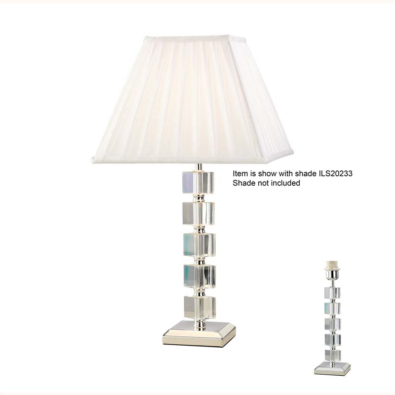 Modern Style 1 Light Crystal Table Lamp Without Shade