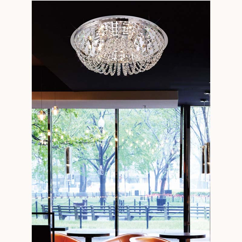 Cosmos Ceiling 7 Light Polished Chrome/Crystal