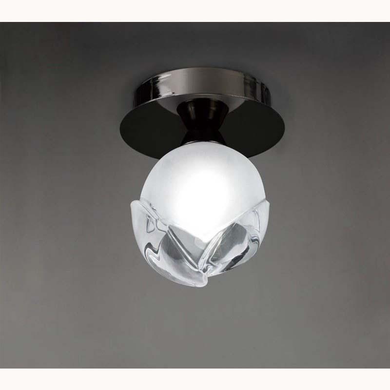 Fragua Ceiling 1 Light Black Chrome