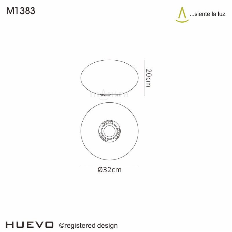 Huevo Stunning Oval Table Lamp Induction Led Color Changing Outdoor