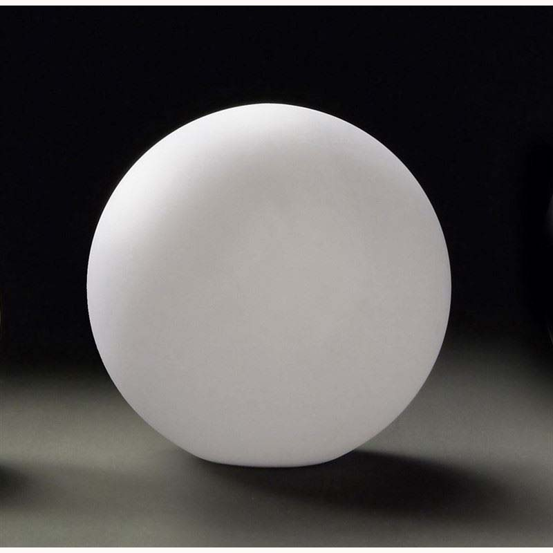 Portable Medium Ball Table Lamp 1 Light Indoor In-Line Switch/White