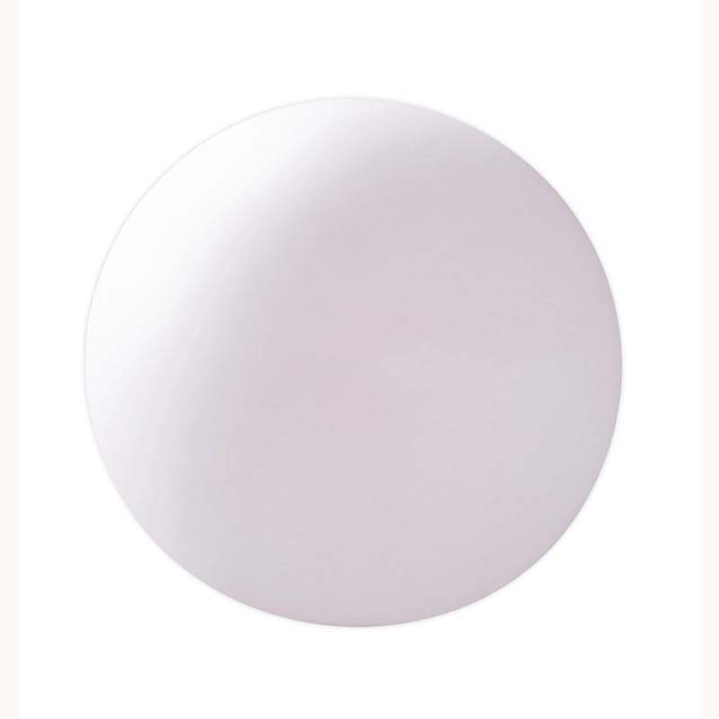 Portable Large Ball Table Lamp 1 Light Indoor In-Line Switch/White
