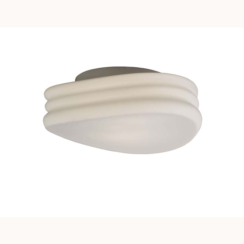 Mediterranean Ceiling/Wall 2 Light Medium Opal