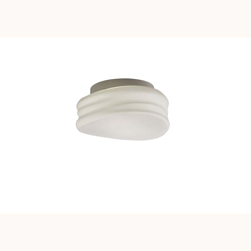 Mediterranean Ceiling/Wall 2 Light Small Opal