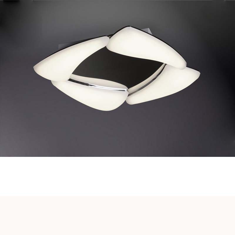 Mistral Ceiling 24W LED 3000K, 2160lm, Polished Chrome/Frosted Acrylic