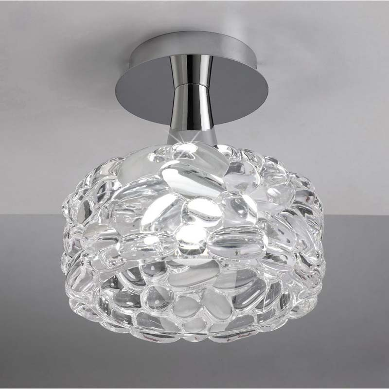 Mantra M3936 O2 Ceiling 1 Light E27 Large, Polished Chrome