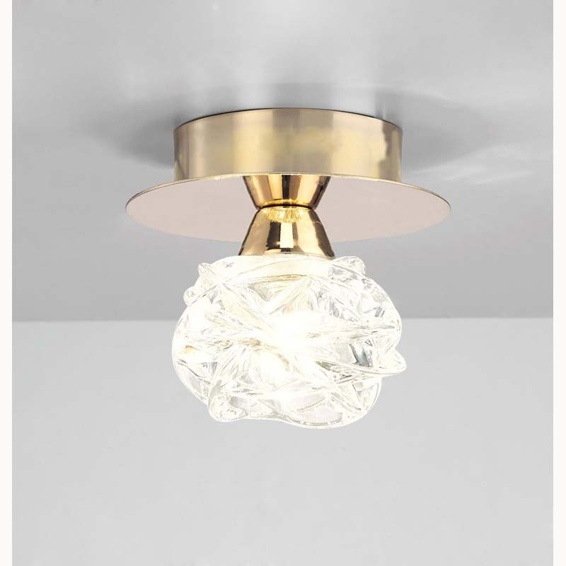 Mantra M3945FG Maremagnum Ceiling 1 Light G9, French Gold