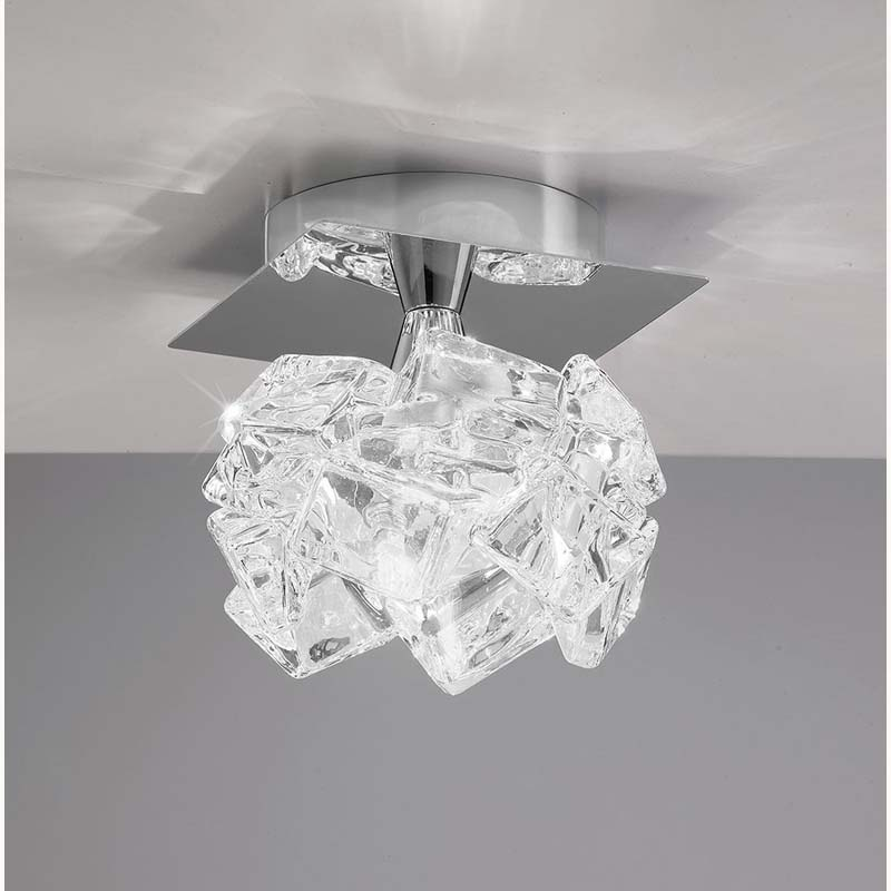 Mantra M3956 Artic Ceiling 1 Light G9 Small, Polished Chrome