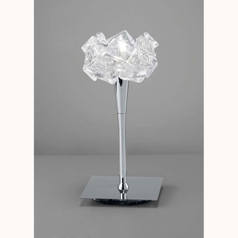 Artic Polished Chrome 1 Light Table Lamp