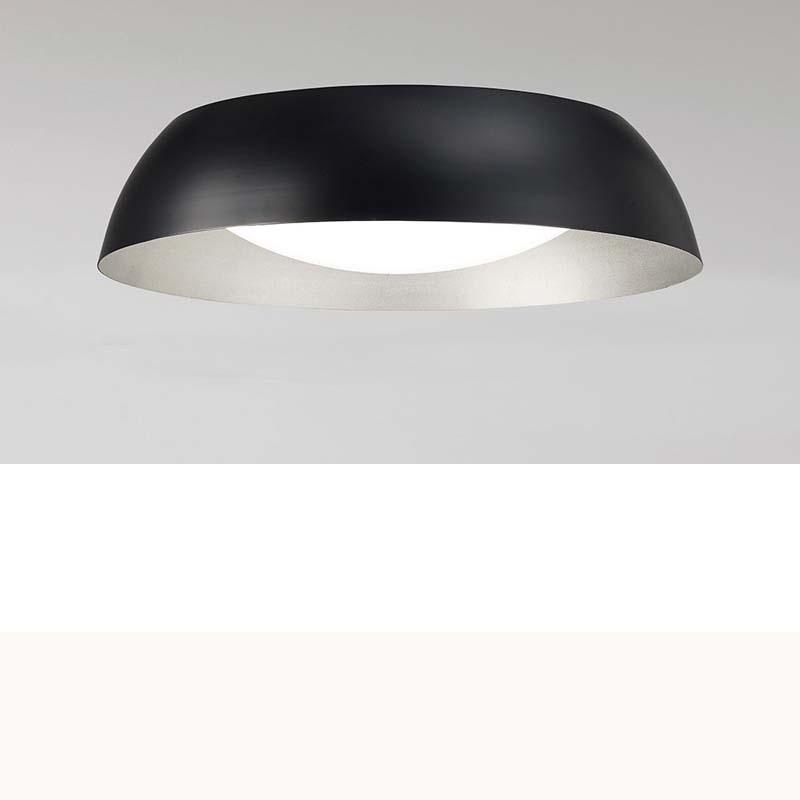 Argenta Ceiling Small 18W LED 3000K, 1800lm, Matt Black/Silver/White Acrylic