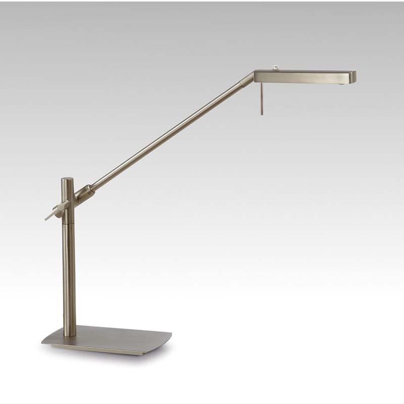 Phuket LED Satin Nickel Table Lamp