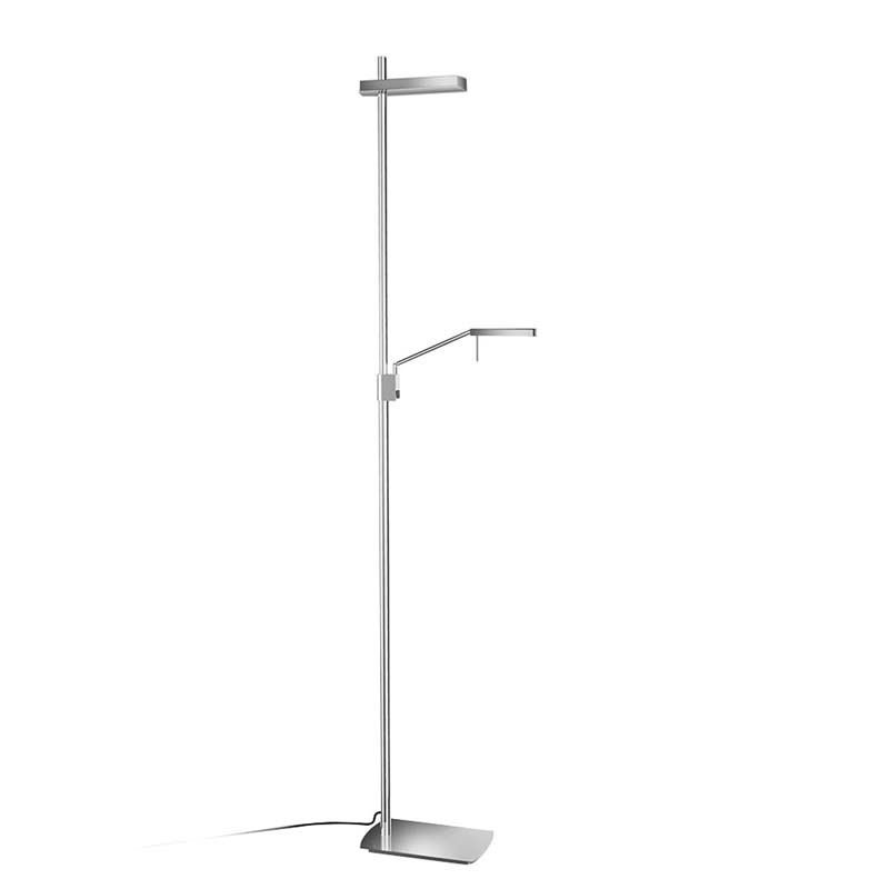 Phuket Floor Lamp 2 Light 21W Down 7W Up LED 3000K, 3000lm, Polished Chrome