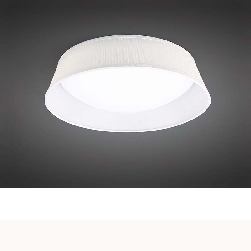 Nordica Ceiling 21W LED 45CM Off White, White Acrylic With Ivory White Shade