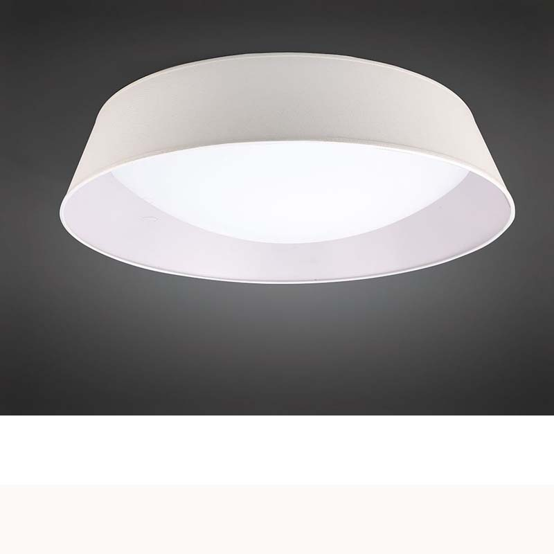 Nordica Ceiling 60W LED 90cm Off White, White Acrylic With Ivory White Shade
