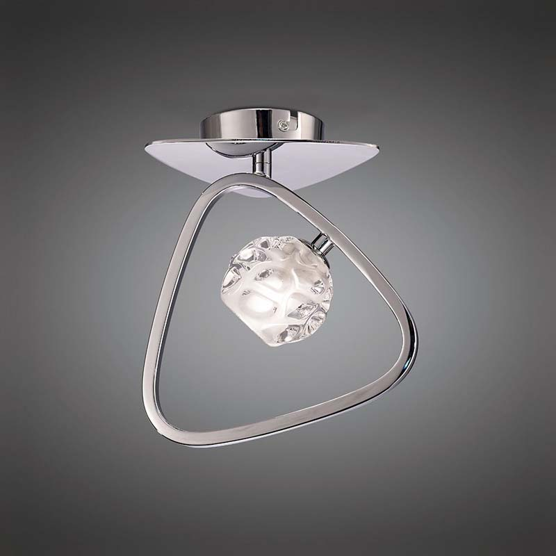 Mantra M5016 Lux Ceiling 1 Light G9, Polished Chrome