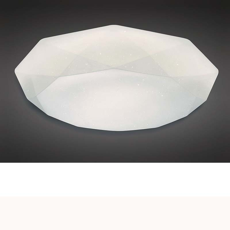 Diamante Ceiling 21W LED 5000K, 2100lm, White Acrylic, 3yrs Warranty