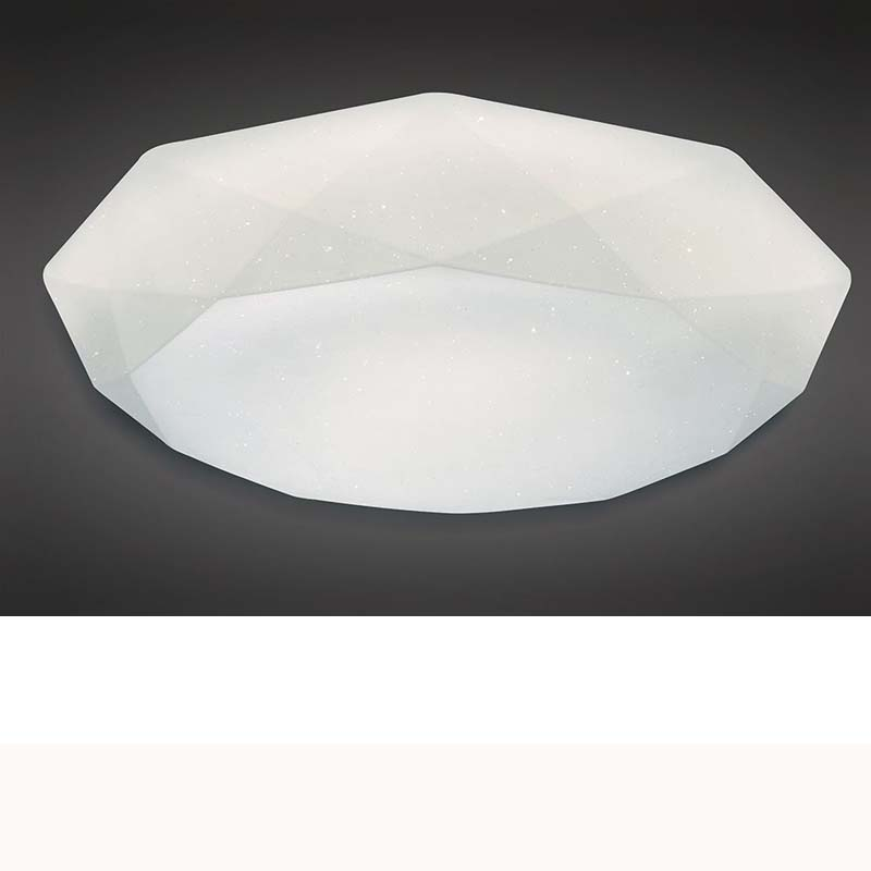 Diamante Ceiling 30W LED 5000K, 3000lm, White Acrylic, 3yrs Warranty