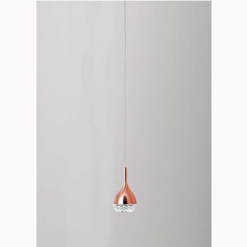 Mantra M5165 Khalifa Pendant 1 Light GU10 Copper