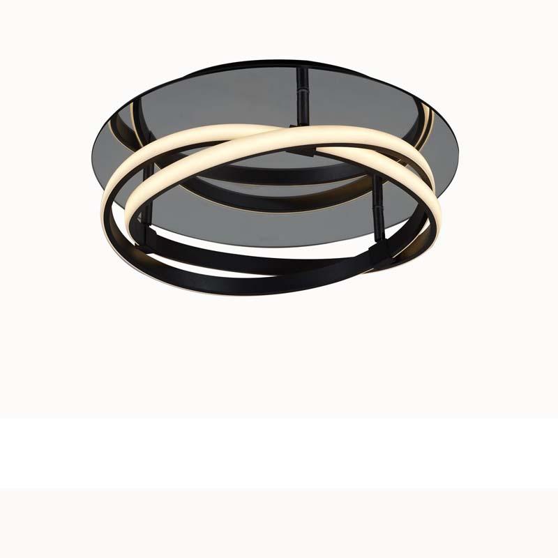 Infinity Flush 30W LED Brown Oxide/White Acrylic, 3yrs Warranty