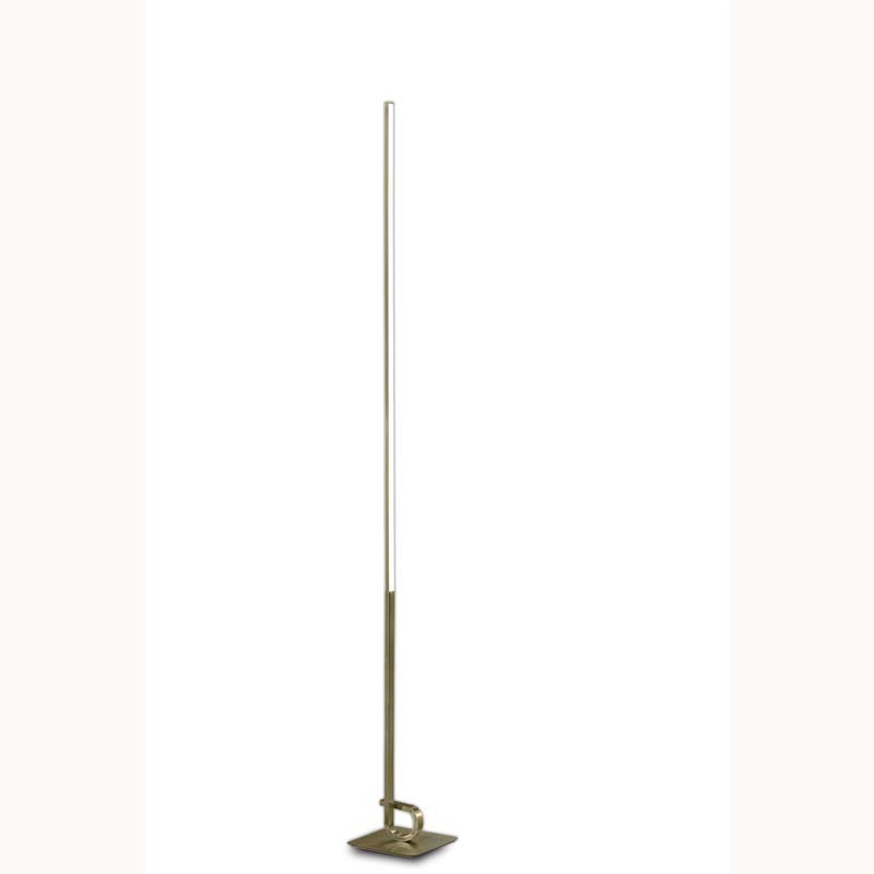 Antique Brass Finished Cinto Floor Lamp Lighting, Dimmable, Bedroom Decoration