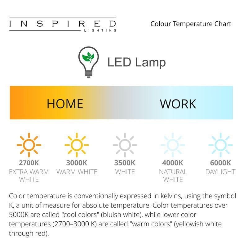 Tobias Silver Chrome 1 Light Table Lamp LED 3W White Base & Shade
