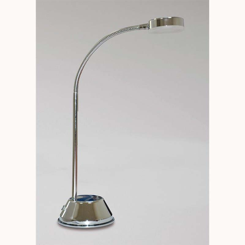 Tobias LED Chrome Table Lamp