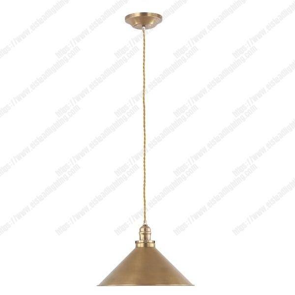 Provence 1 Light Stick Lamp - Aged Brass