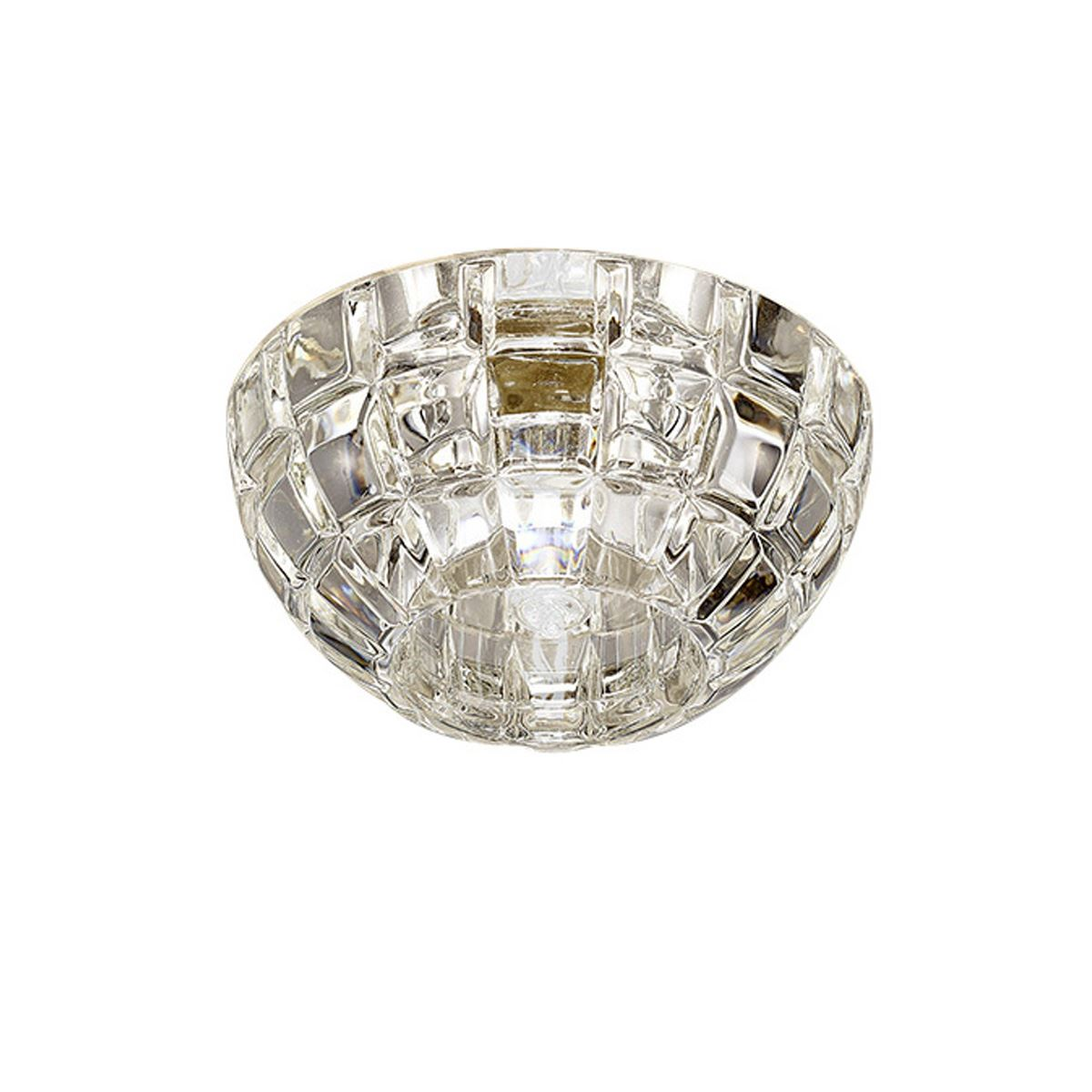 Diyas IL31840CH Ria G9 Dome Downlight Polished Chrome/Crystal