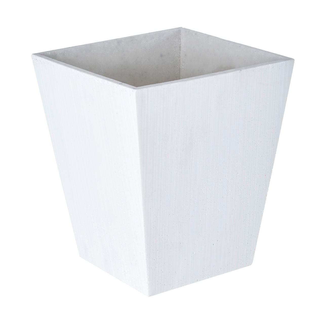 Vase,White Polyresin,Small