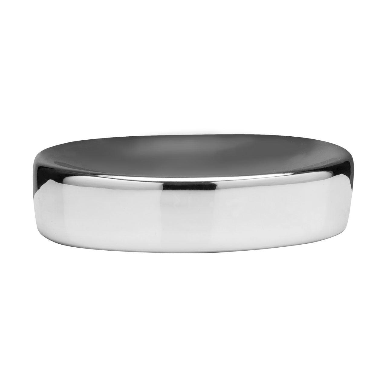 Magpie Soap Dish,Dolomite,Silver