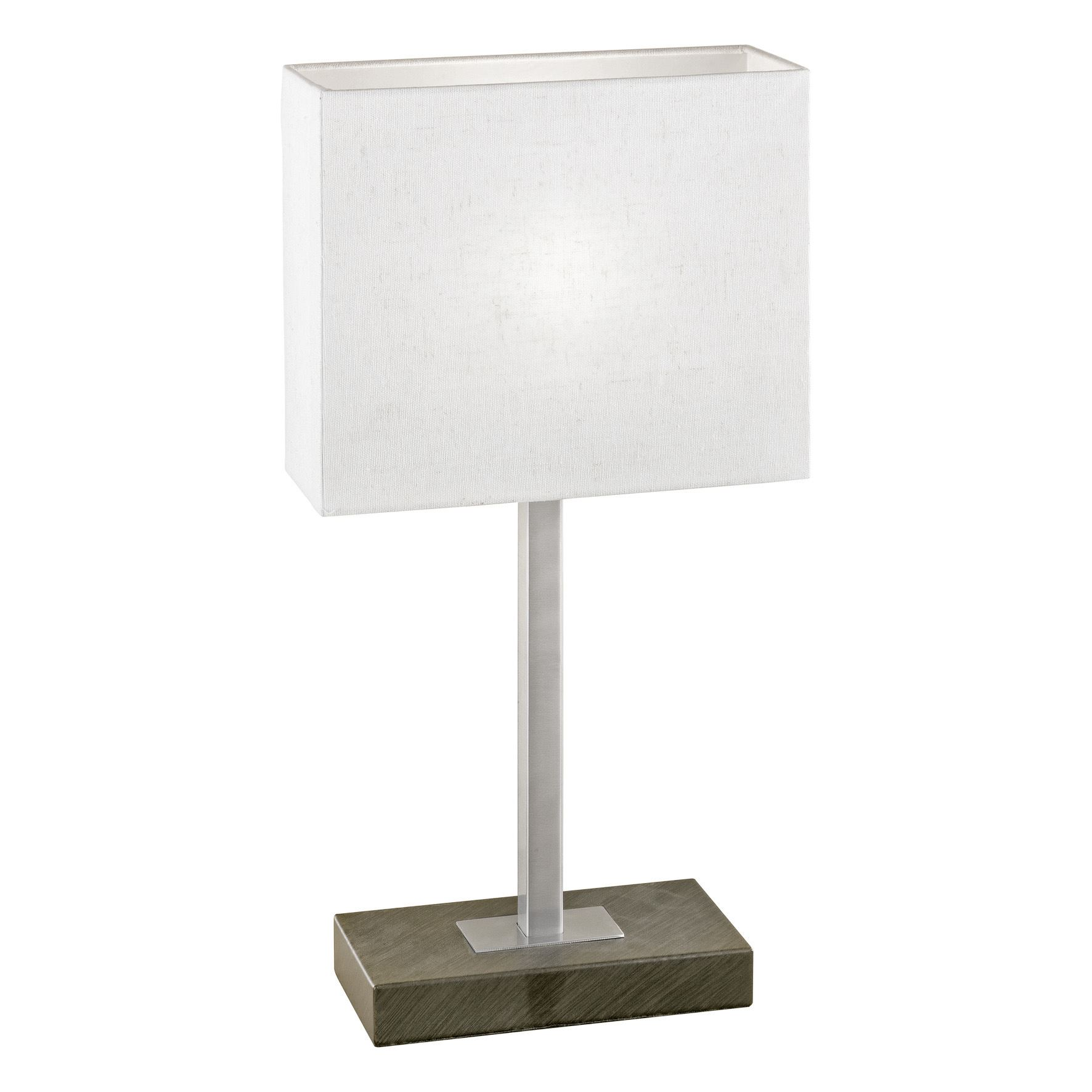 Pueblo Table Lamp 1 Light With Touchdimmer Antique Brown Beige