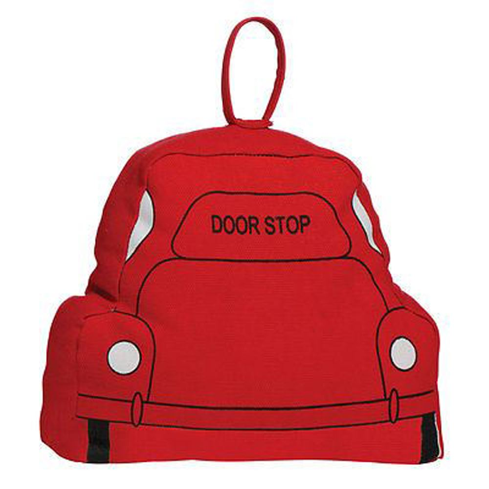 Door Stop,Car,Red Fabric