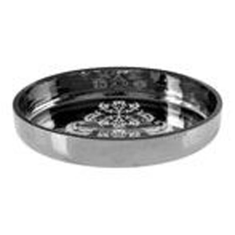 Elissa Soap Dish, Silver, Oval