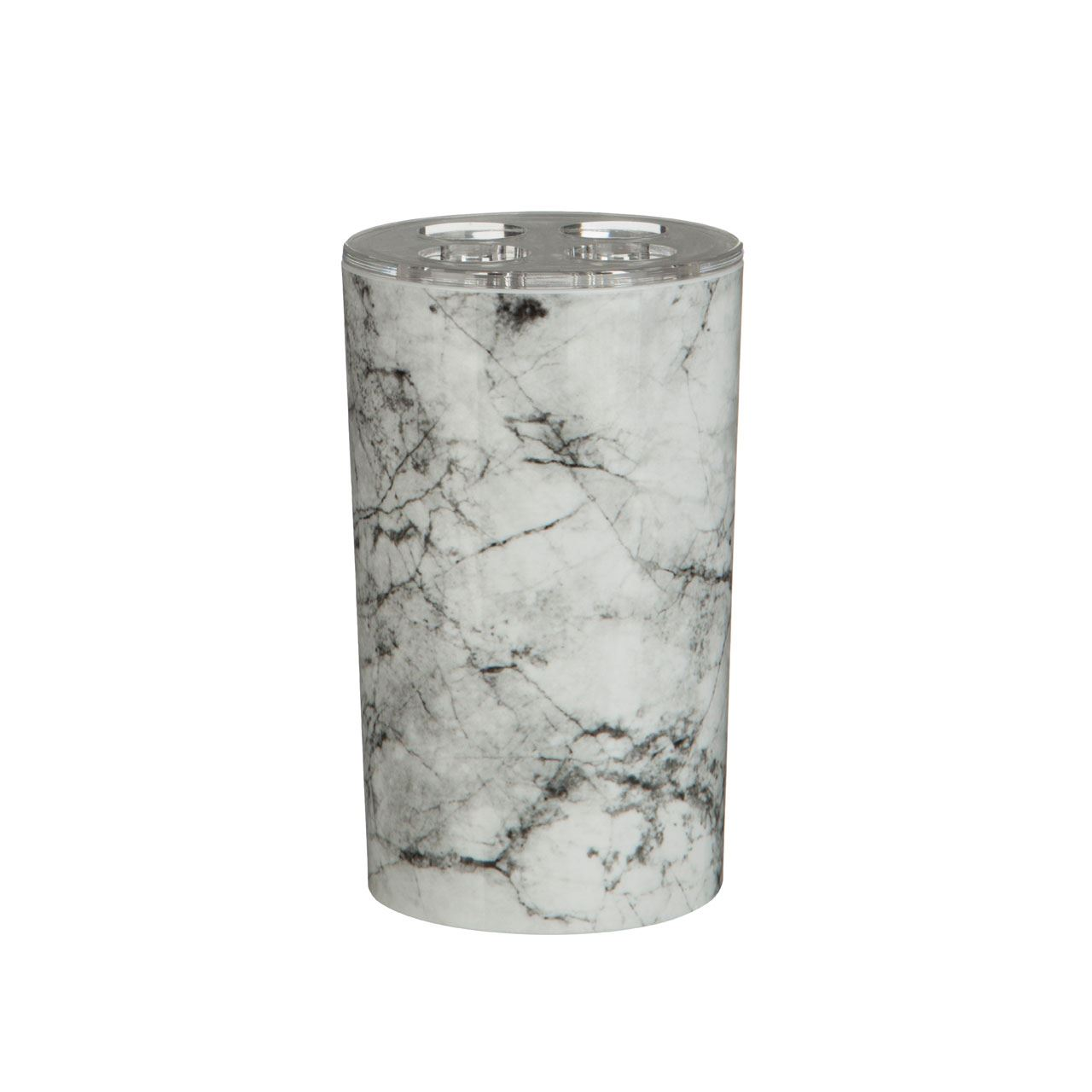 Rome Toothbrush Holder,Marble Effect,Abs Plastic