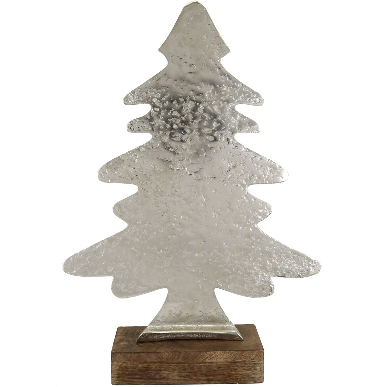 Large Hammered Christmas Tree Ornament