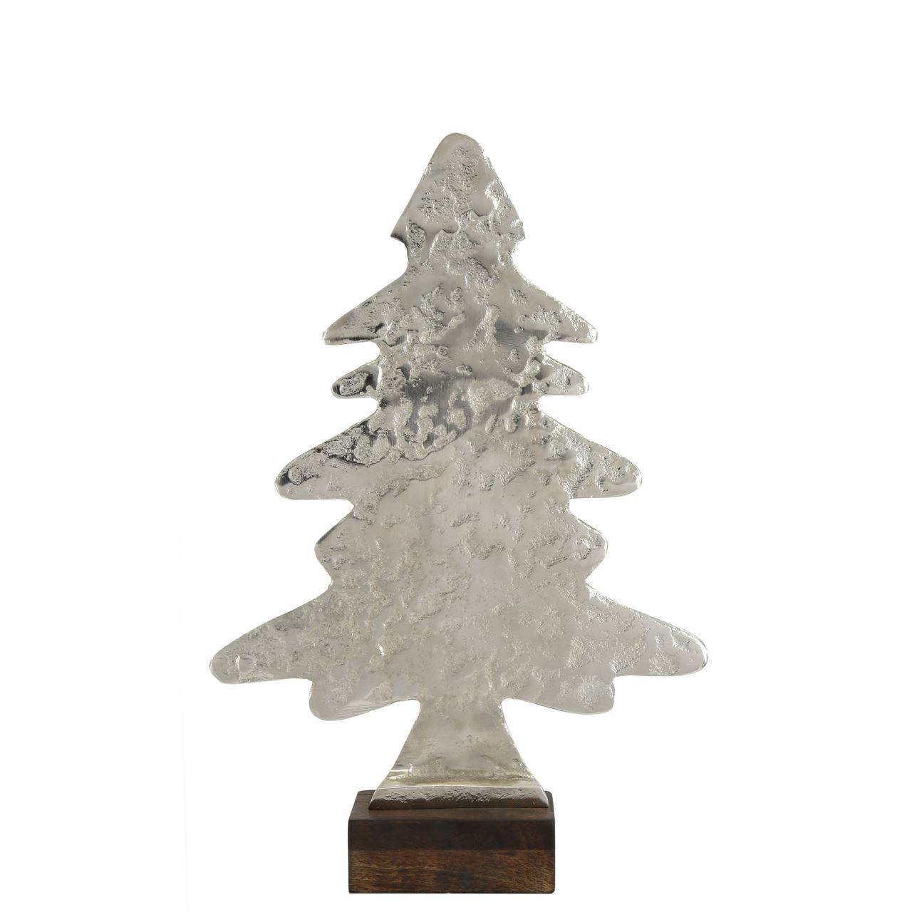 Small Hammered Christmas Tree Ornament