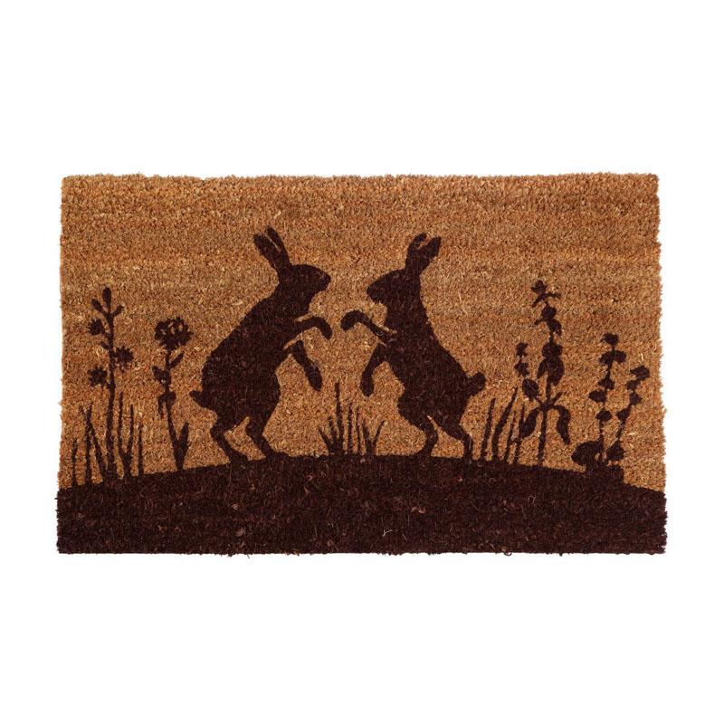 Hare Doormat,Pvc Backed Coir