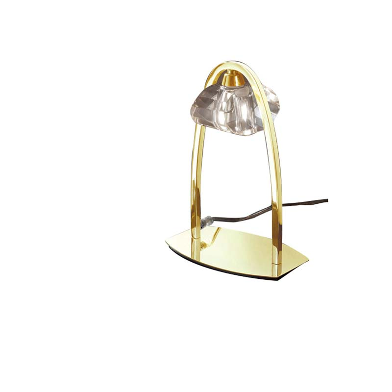 Mantra M0563FG Alfa Table Lamp 1 Light G9, French Gold