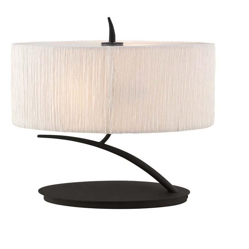 Designer Antique Recite 2 Light Table Lamp With Cream Drum Shade