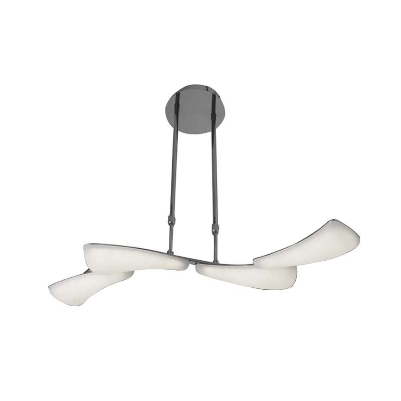 Mistral Telescopic 24W LED Line 3000K, 2160lm, Polished Chrome/Frosted Acrylic
